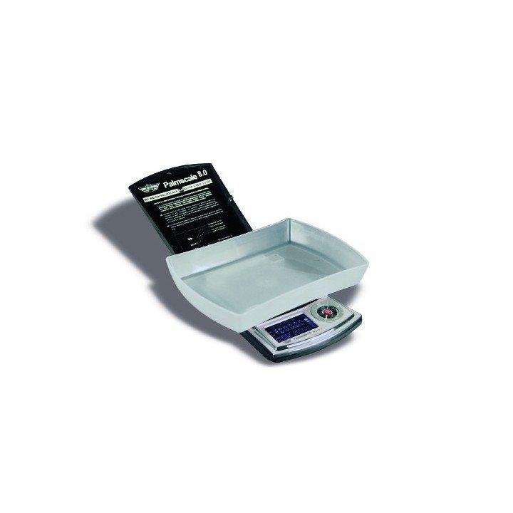 Balance 800g à 0,1g + poids d'étalon Palmscale 8 My weigh