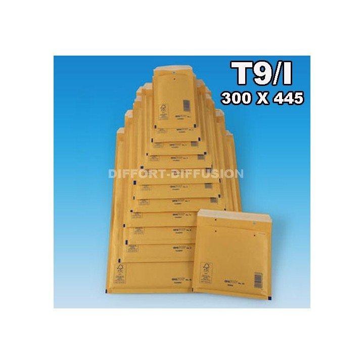 50 ENVELOPPES A BULLES T9 (320*450) BRUNES