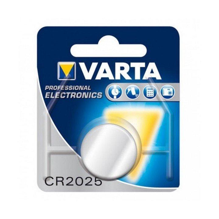 Lot de 10 piles VARTA 3V Lithium CR2025