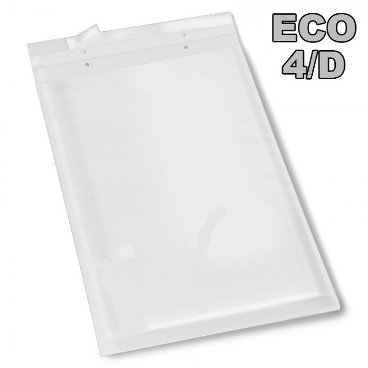 100 enveloppe bulle Eco D/4 blanc 175x265mm DIFPAC