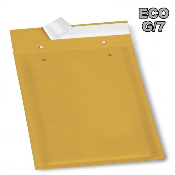 Enveloppe bulle Eco G/7 marron 260x350mm