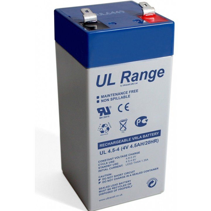 Batterie plomb Ultracell UL4 5-4