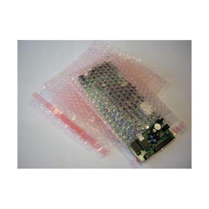 Sachet bulle d'air avec rabat bande adhésive 220x360