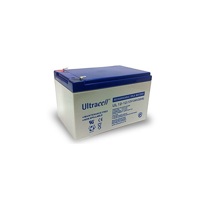 ULTRACELL UL12-12 batterie au plomb 12V 12AH 151x98x101mm