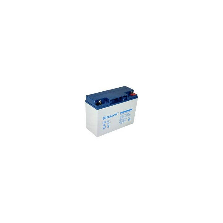 ULTRACELL UL20-12 batterie au plomb 12V 20AH 181,5x77x167,5mm