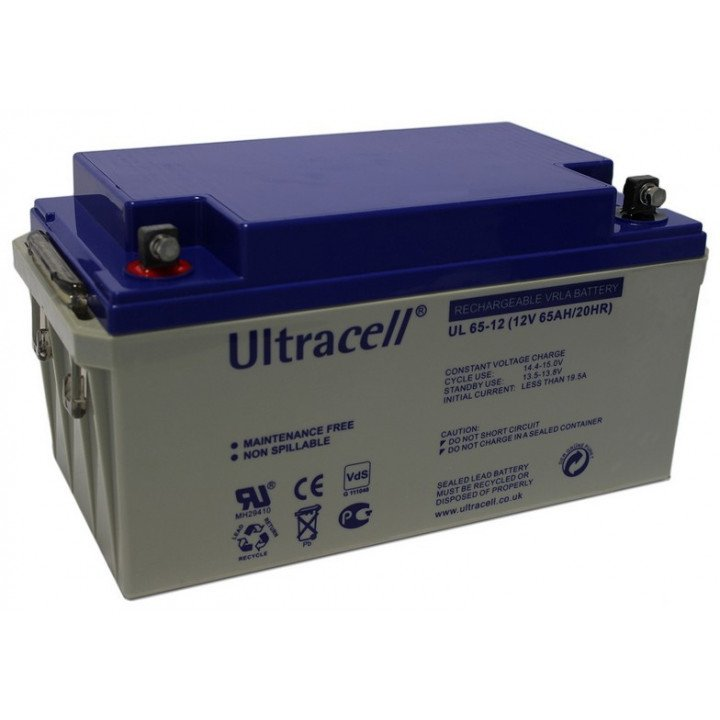 ULTRACELL UL65-12 / 12V 65AH batterie au plomb