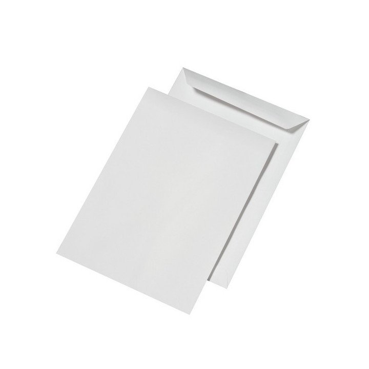 Lot de 20 enveloppes en plastique Autoadh/ésives Pour envoi postal Blanches 400/x 500/mm