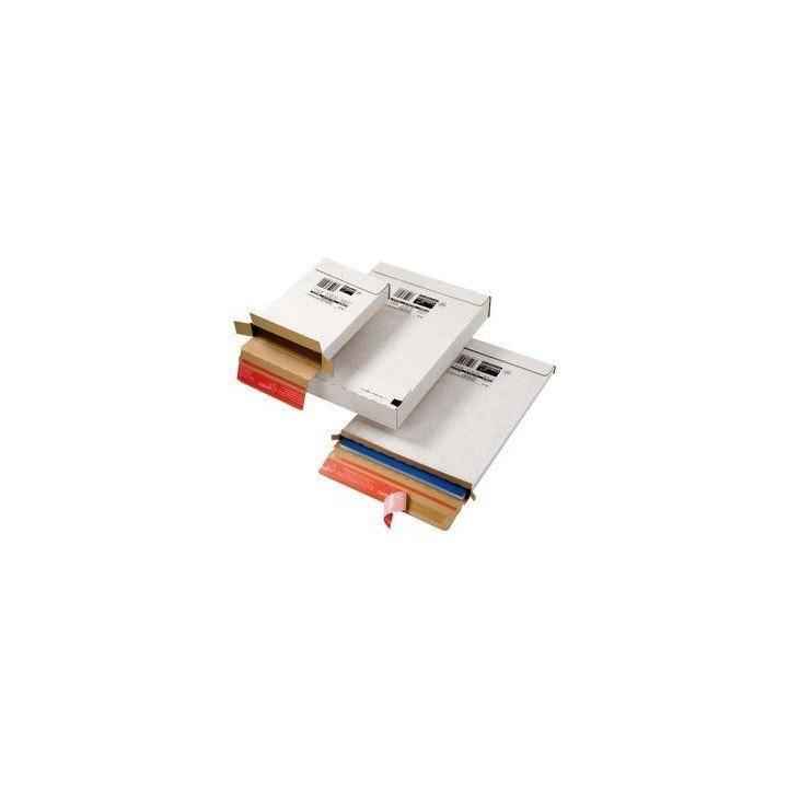 100 boites pour lettre max ou suivie 25 x 35 x 1,5 cm