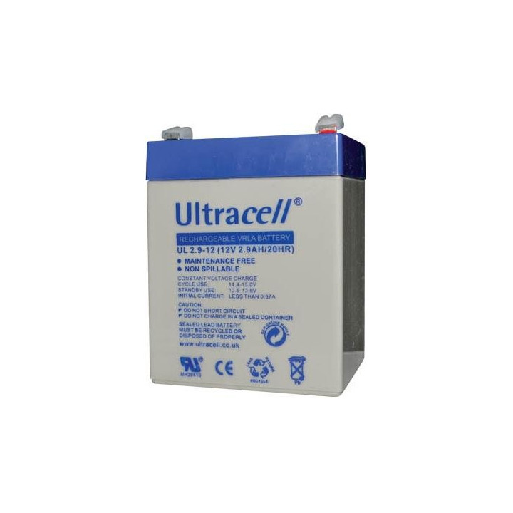 ULTRACELL UL2.9-12V batterie au plomb