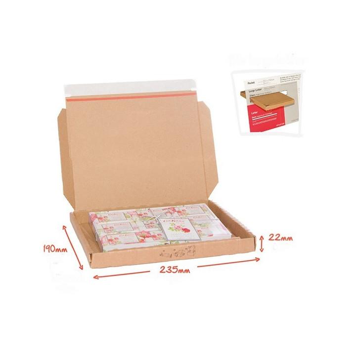 Boite enveloppe postale autocollante Pop-Up pour boite aux lettres suivi lettre maxS1