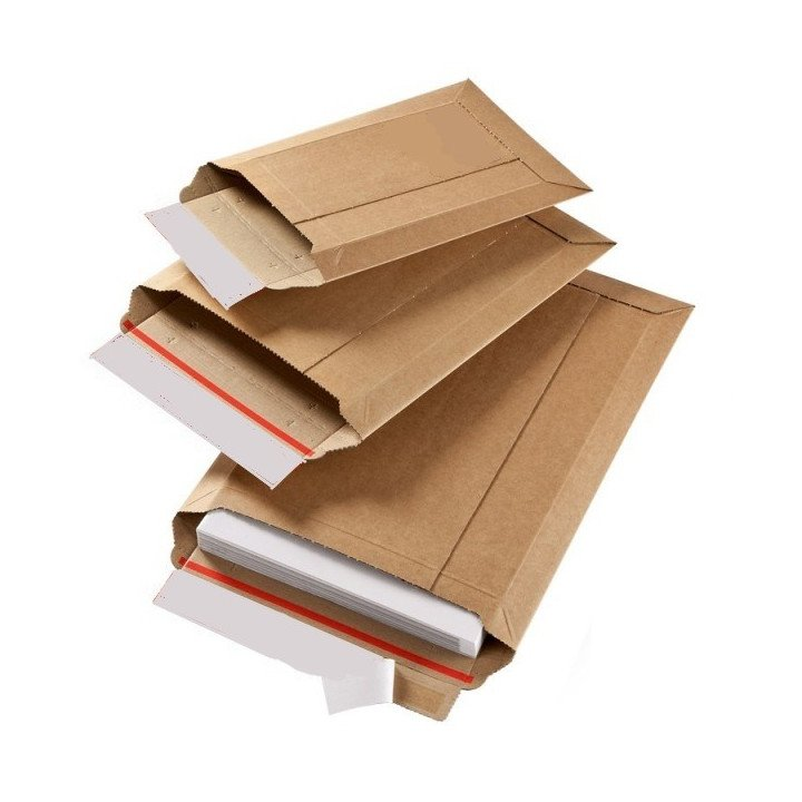 100 Enveloppes cartons ondulés WBX7 (330 x 470mm)