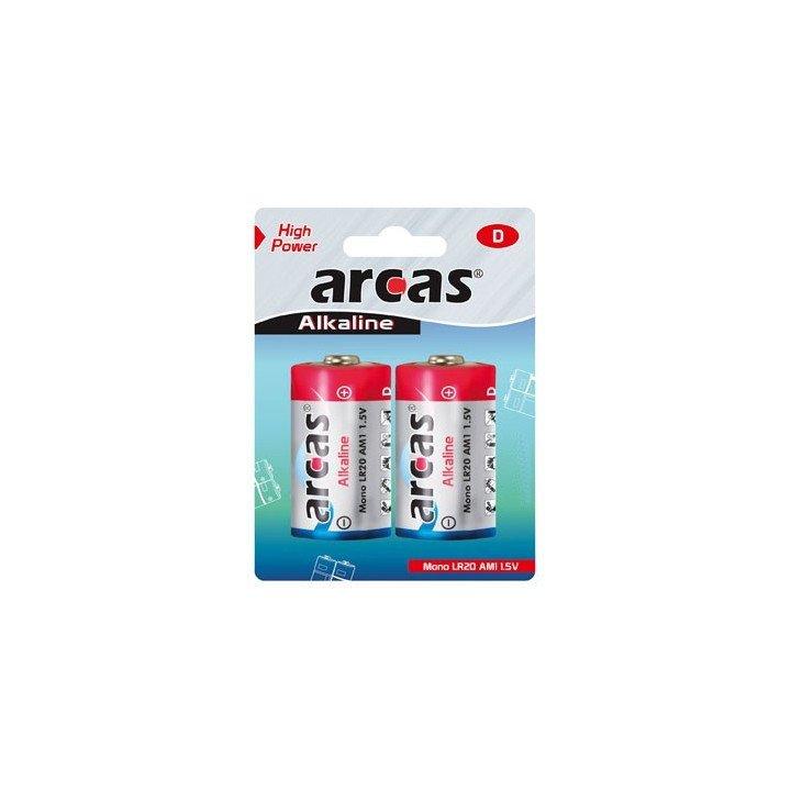 DESTOCK 12 piles alcaline Arcas LR20 / D date 08/2017