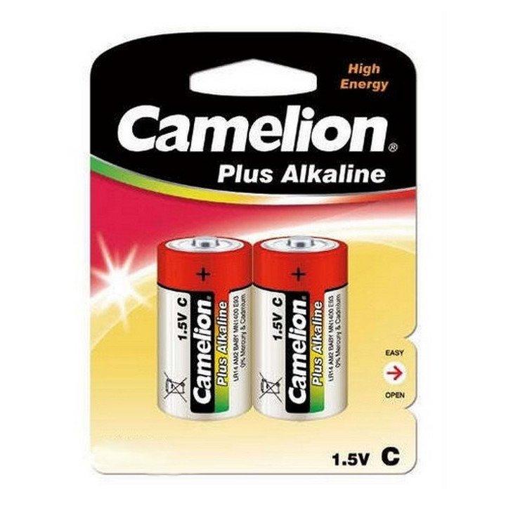 DESTOCK 12 piles (6 blisters) Camelion LR14 / C 06/2020 (blister jaune)