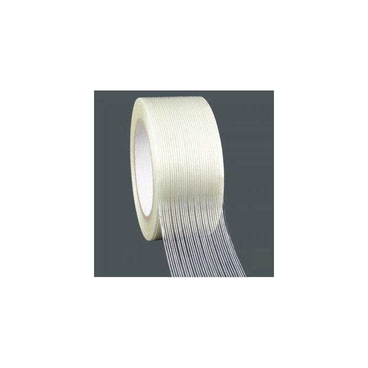 ruban adhésifs rouleaux armés fil à fil transparent 50x50