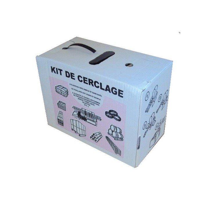 Kit de cerclage pour l'emballage
