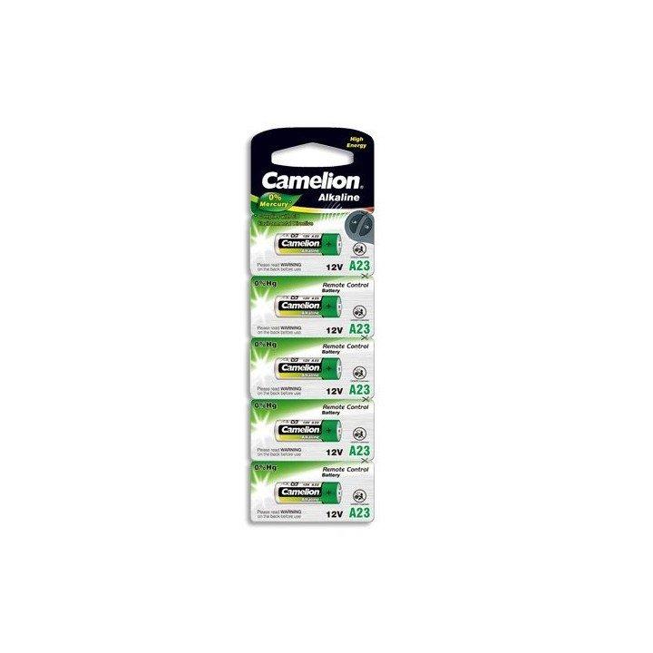 5 piles Camelion  A23 BP5