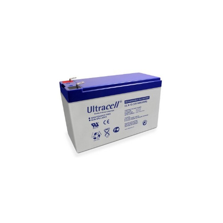 ULTRACELL UL 9-12 batterie au plomb 12V 9AH 151x65x99mm