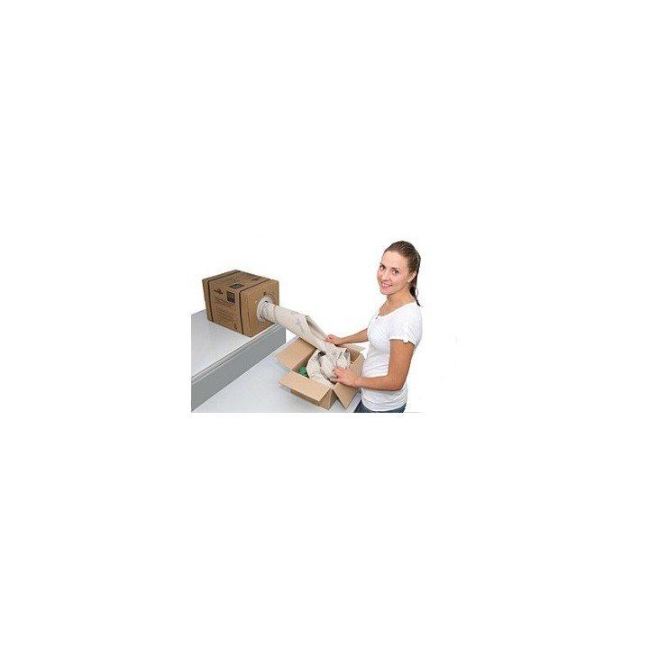 Papier de calage à froisser avec boite distributrice