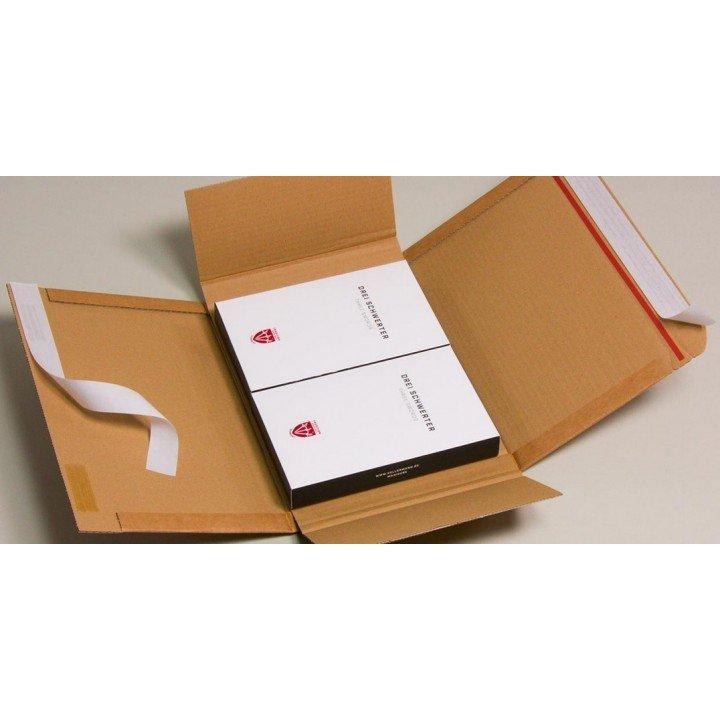 étuis postaux carton DVD 23x16.5x(6cm) A5