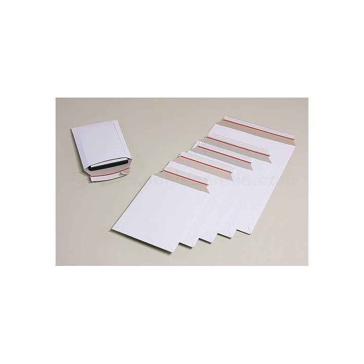 100 enveloppes cartons blanches BBX3W 238 x 316mm
