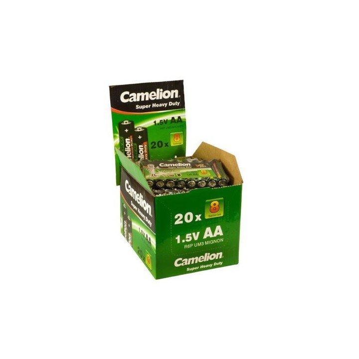 Display de 160 piles AA / R06 Camelion Green (06-2019)