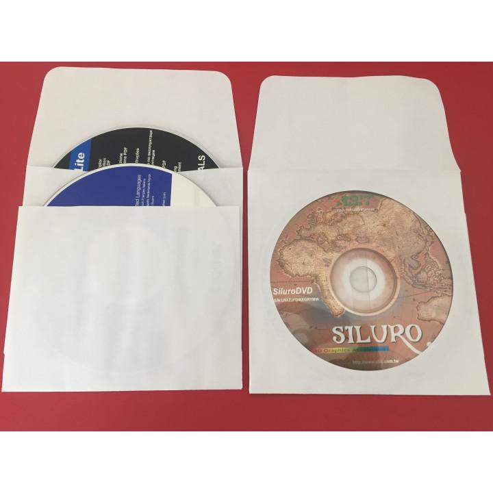 Destockage 100 Pochettes enveloppes 2 CD / DVD