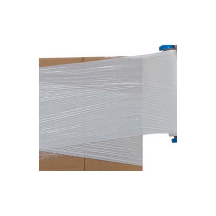 Bobine rouleau film palette étirable BLANC manuel 45cm x 300m23µ