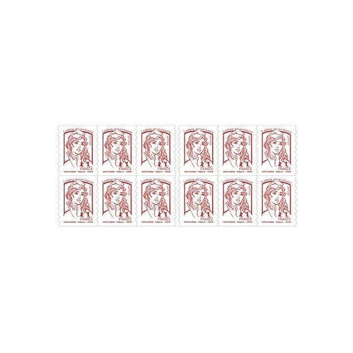 120 timbres autocollants lettre prioritaire 20g validité permanente