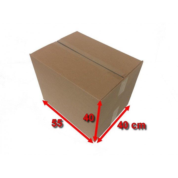 100 carton marron caisse américaine 550x400x400mm