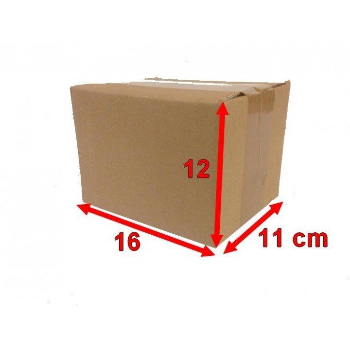 20 carton caisse américaine 16x12x11 (fefco 201)
