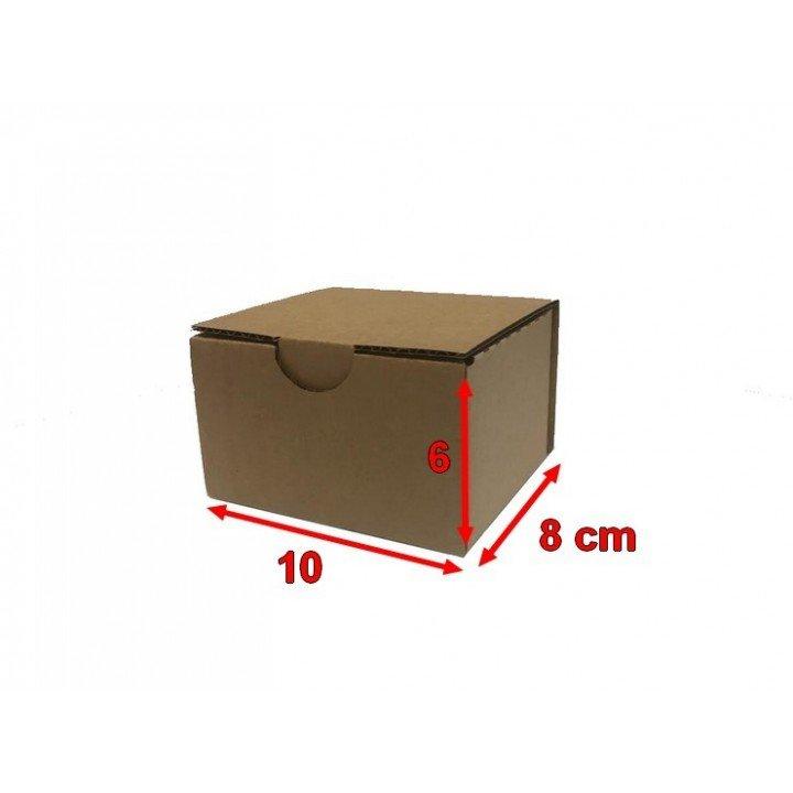 Boite postale carton 10 x 8 x 6 cm (100x80x60mm)