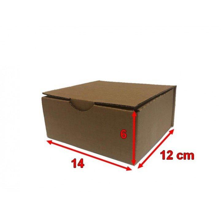 50 Boites postales cartons 14 x 12 x 6 cm (100x80x60mm)