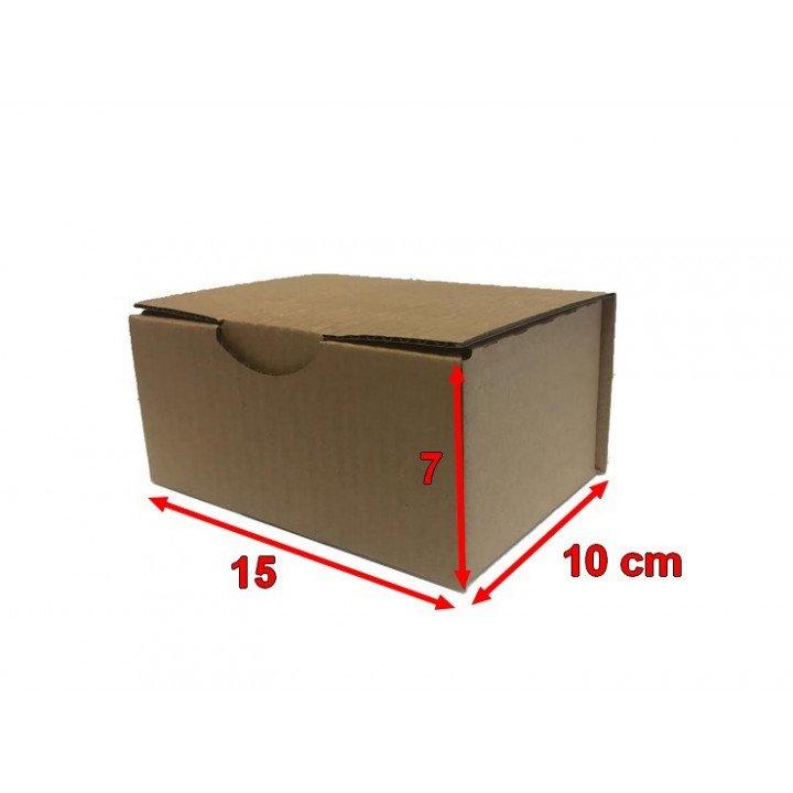 Boite postale carton 15 x 10 x 7 cm (150x100x70mm)