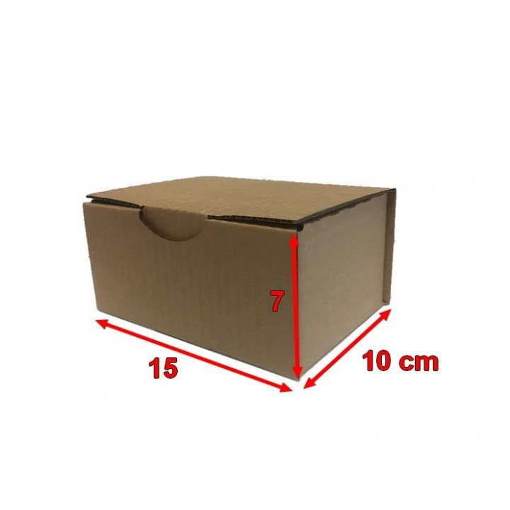 50 Boites postales cartons 15 x 10 x 7 cm (150x100x70mm)