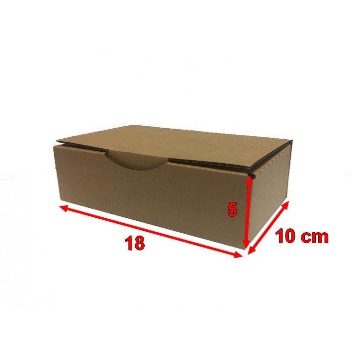 50 Boites postales cartons 18 x 10 x 5 cm (180x100x50mm)