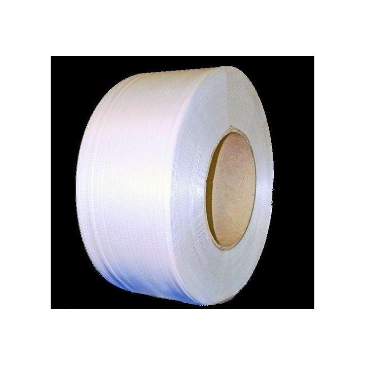 Feuillard blanc polypropylène pour cercleuse