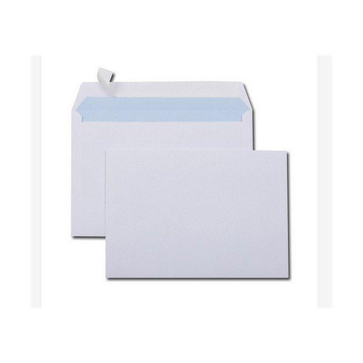 500 enveloppes papier blanc C5 162 x 229 mm (597)