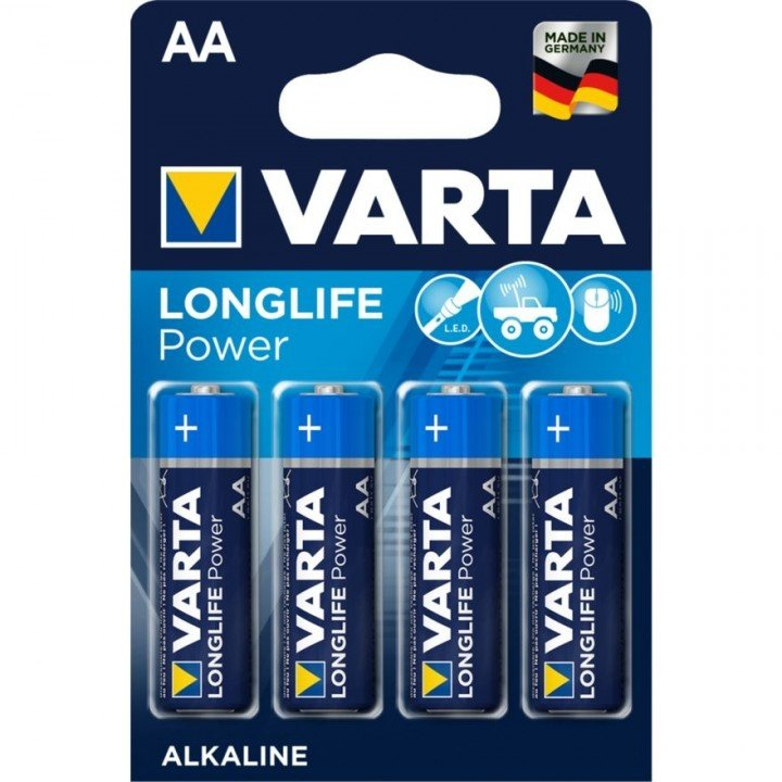 PILES AA LR06 AA (10 blisters) Varta LONG LIFE POWER