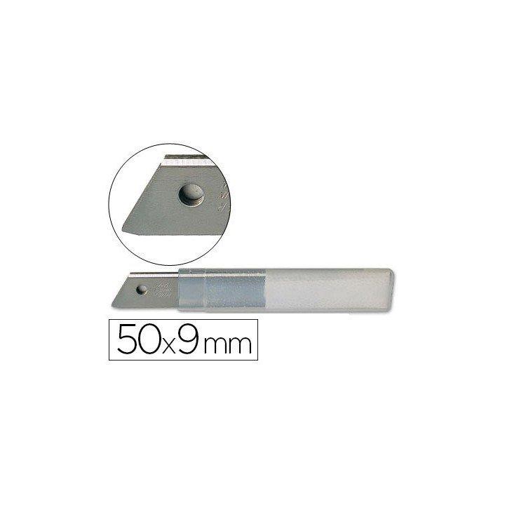 Lame de rechange 9mm pour cutter (étui de 10 lames)