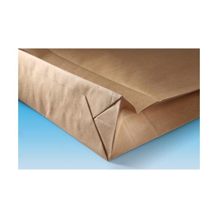 500 enveloppes pochette Kraft soufflet 190 x 50 x 300 + 50mm