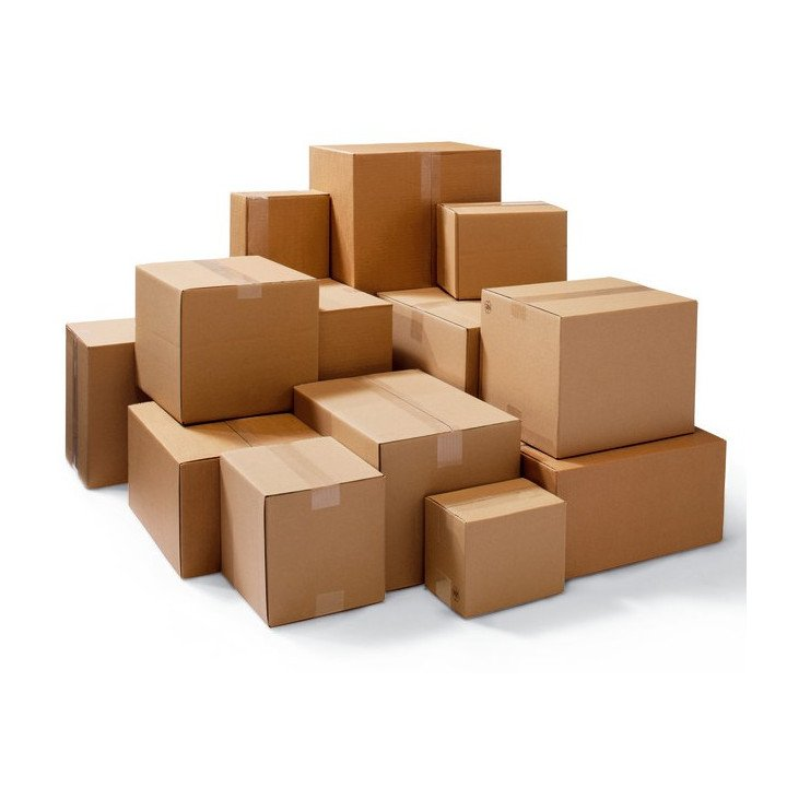 UNE PALETTE de 1440 carton caisse américaine 250x250x100mm