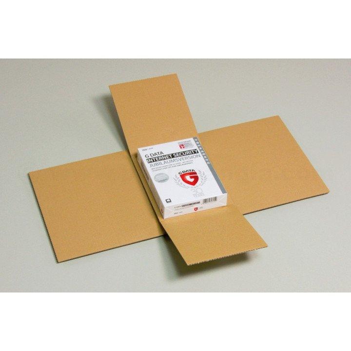 Lot 50 étuis croix postal carbook 240x180x60