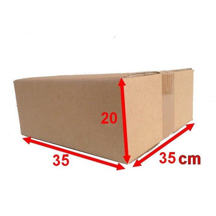 lot 20 carton caisse américaine 35 x 35 x 20 (fefco 201)