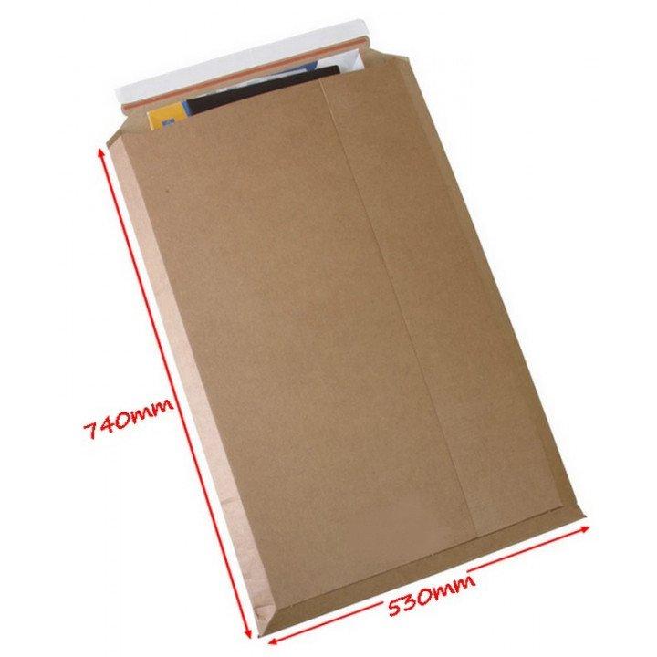 Très grande enveloppe cartonnée 74x53 cm PS.4061