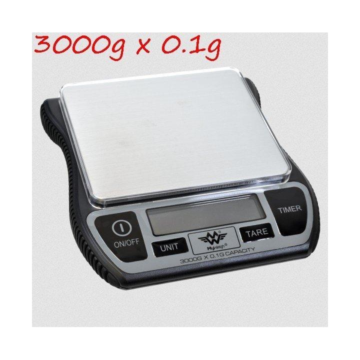 Balance de cuisine café BARISTA 3000g x 0.1g My Weigh