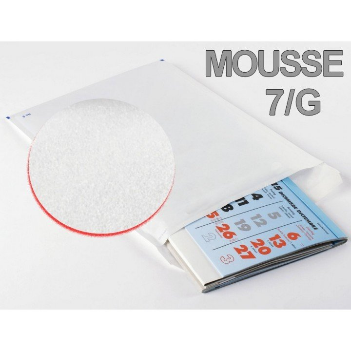 Lot de 100 enveloppes matelassées mousse (230x340) T7 / G format A4