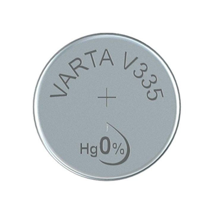 5 piles ronde Varta V335 SR512 SW Bouton Oxyde d'argent