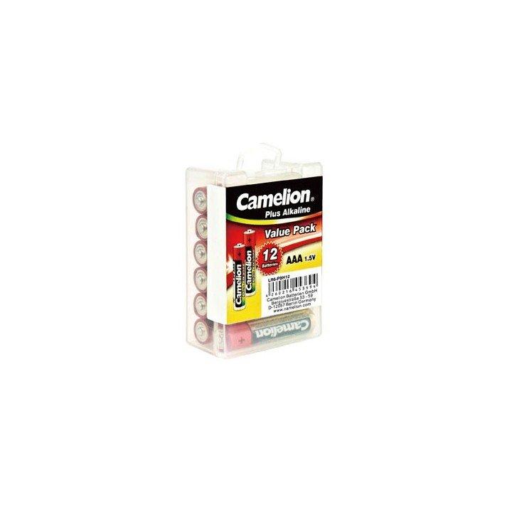 DESTOCKAGE Boite de 12 piles Plus Alcaline LR03 AAA Camelion 06/2021