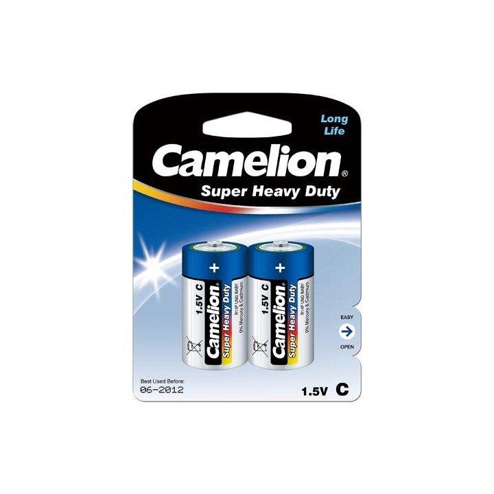 4 piles CAMELION Super Heavy Duty C / R14  pour balance