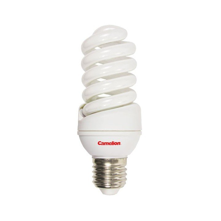 Ampoule 23W E27 SPIRALE (2700k) Fluocompacte Camelion
